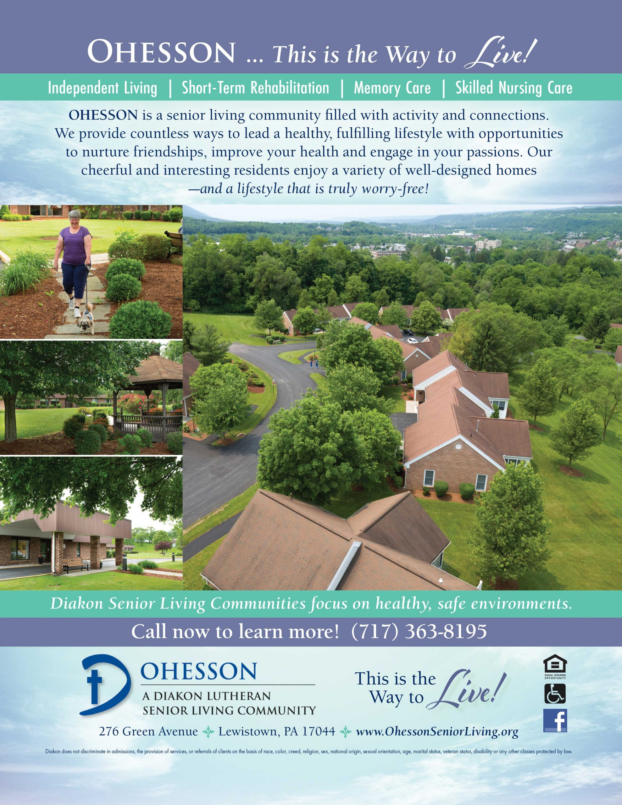 "<center>Ohesson Manor Nursing Home | <b><a href=""https://www.diakonseniorliving.org/communities/ohesson"" target=""_blank"" rel=""noopener noreferrer"">CLICK HERE to view the website</a></b></center>"