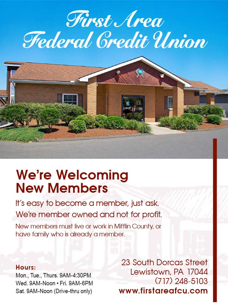 "<center>First Area Federal Credit Union | <b><a href=""https://www.firstareafcu.com"" target=""_blank"" rel=""noopener noreferrer"">CLICK HERE to view the website</a></b></center>"