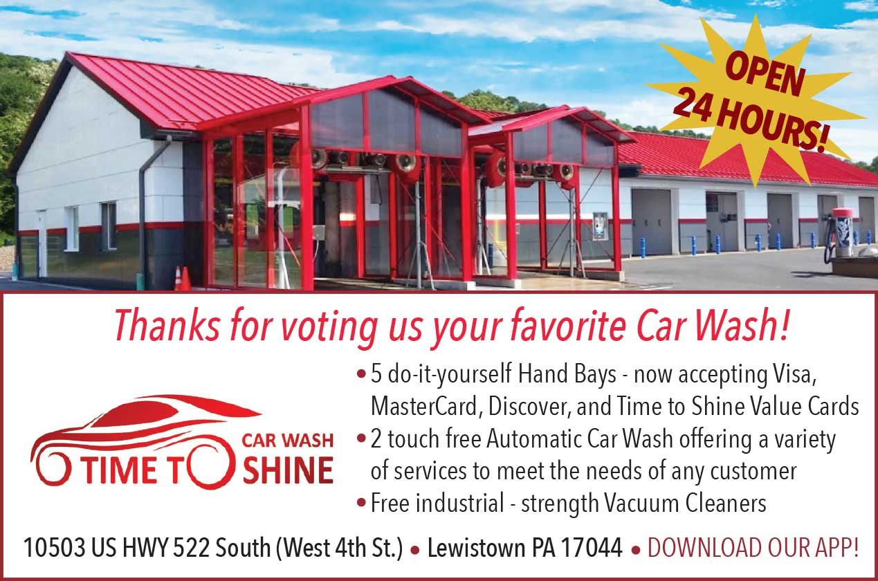 "<center>Time to Shine Car Wash | <b><a href=""http://www.timetoshinepa.com"" target=""_blank"" rel=""noopener noreferrer"">CLICK HERE to view the website</a></b></center>"