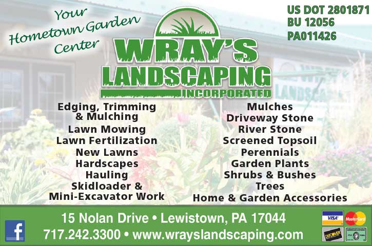 "<center>Wray's Landscaping Incorporated | <b><a href=""https://www.wrayslandscaping.com"" target=""_blank"" rel=""noopener noreferrer"">CLICK HERE to view the website</a></b></center>"