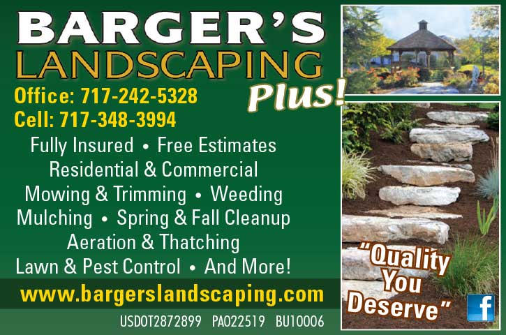 "<center>Barger's Landscaping Plus! | <b><a href=""http://www.bargerslandscapingplus.com"" target=""_blank"" rel=""noopener noreferrer"">CLICK HERE to view the website</a></b></center>"