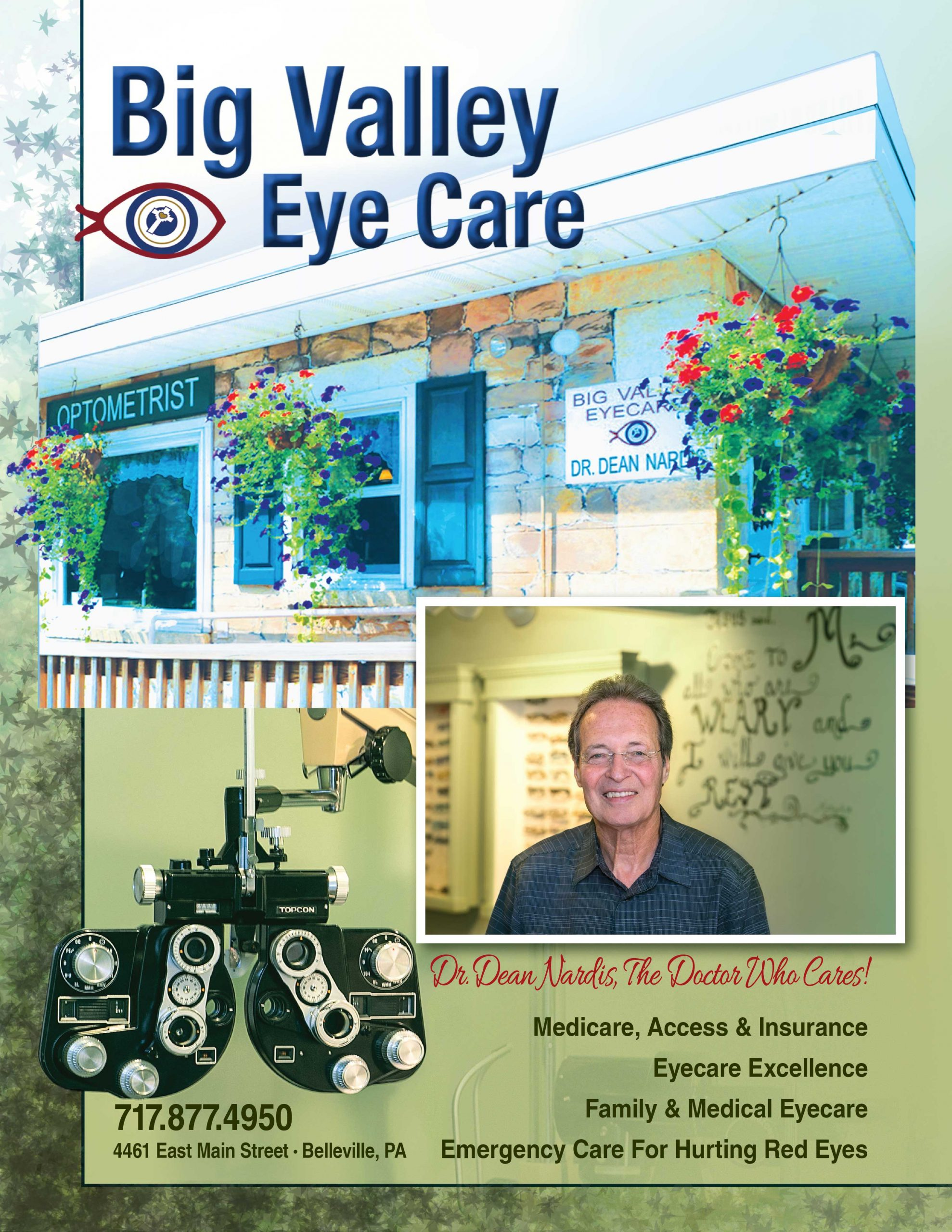 "<center>Big Valley Eye Care | <b><a href=""tel:717-877-4950"">CLICK TO CALL (717) 877-4950</a></b></center>"