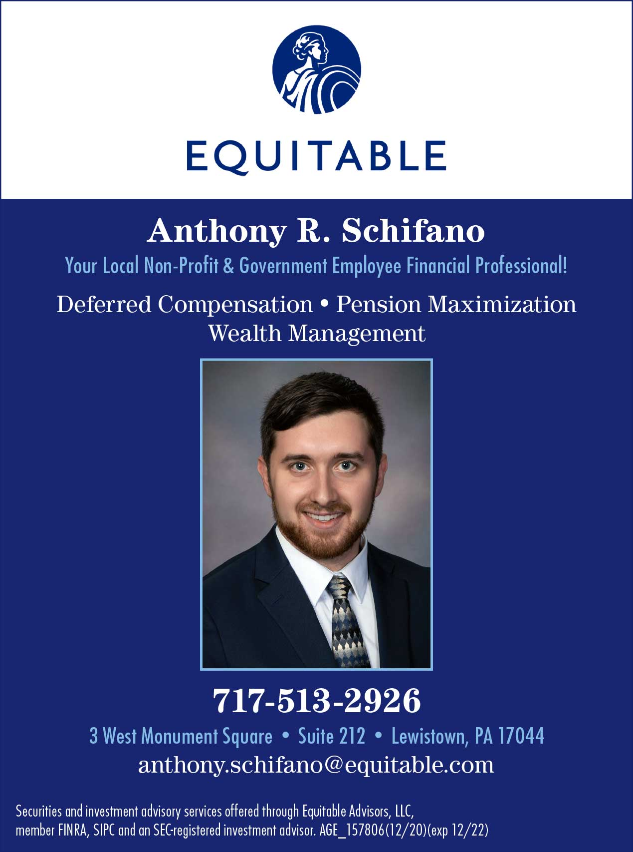 "<center>Anthony R. Schifano Equitable Advisors | <b><a href=""https://equitable.com"" target=""_blank"" rel=""noopener noreferrer"">CLICK HERE to view the website</a></b></center>"