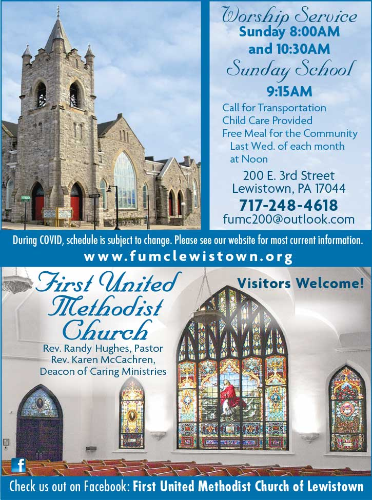 "<center>First United Methodist Church | <b><a href=""https://www.fumclewistown.org"" target=""_blank"" rel=""noopener noreferrer"">CLICK HERE to view the website</a></b></center>"