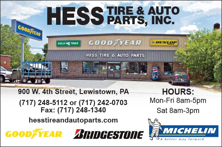 "<center>Hess Tire & Auto Parts, Inc. | <b><a href=""https://hesstireandautoparts.com"" target=""_blank"" rel=""noopener noreferrer"">CLICK HERE to view the website</a></b></center>"