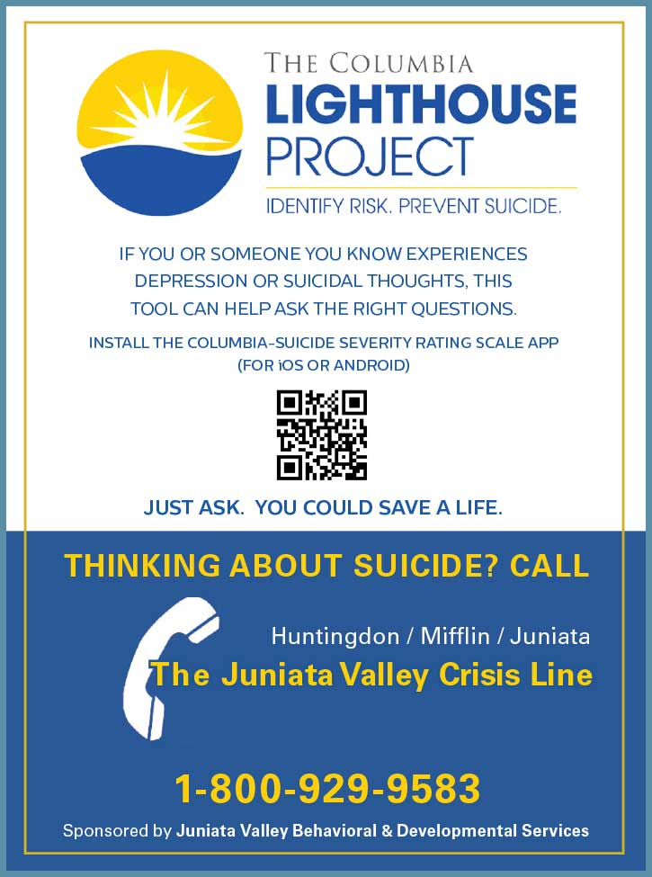 "<center>Juniata Valley Behavioral Suicide Prevention | <b><a href=""tel:18009299583"">CLICK TO CALL 1-800-929-9583</a></b></center>"