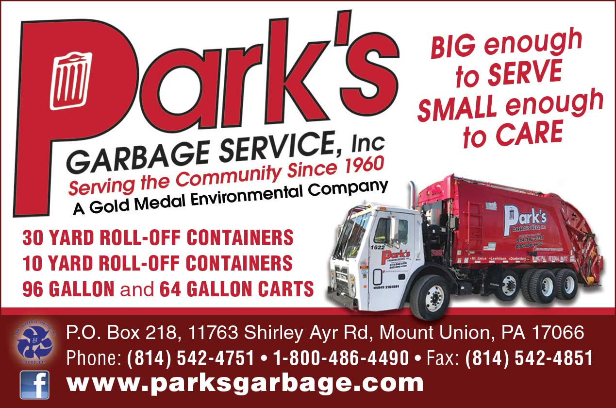 "<center>Park's Garbage Service, Inc. | <b><a href=""http://www.parksgarbage.com"" target=""_blank"" rel=""noopener noreferrer"">CLICK HERE to view the website</a></b></center>"
