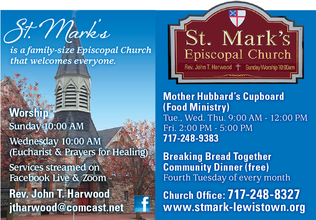 "<center>St. Mark's Episcopal Church | <b><a href=""http://www.stmark-lewistown.org"" target=""_blank"" rel=""noopener noreferrer"">CLICK HERE to view the website</a></b></center>"