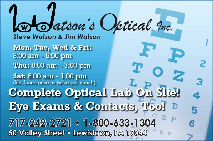 "<center>Watson's Optical, Inc. | <b><a href=""tel:717-242-2721"">CLICK TO CALL (717) 242-2721</a></b></center>"